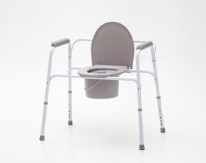 Aluminium, Height Adjustable, Commode Chair, (YJ-7800) pictures & photos