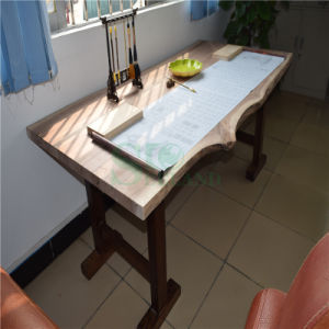 Black Walnut Wood Table Top with Country Style pictures & photos