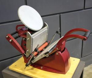 Tabletop Manual Letterpress Machine Typography