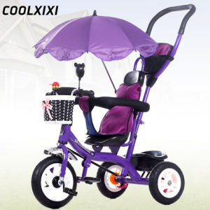 2016 Hot Baby Tricycle with Beach Umbrella pictures & photos