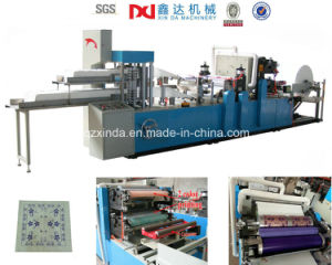 High Production Embossed Tissue Napkin Paper Making Machine Two Layer pictures & photos