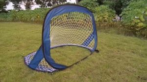 Folding Football Goal Soccer Equipment Portable Mini Pop Up Soccer Goal
