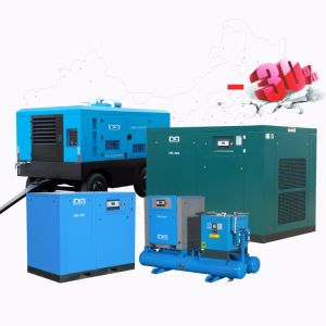 2018 New! ! ! Best Price with Good Quality Industrial Screw Air Compressor From 5.5kw to 400kw with Belt Driven & Direct Driven
