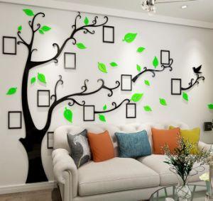 China Home Decoration Family Photo Frame Tree Wall Sticker Acrylic