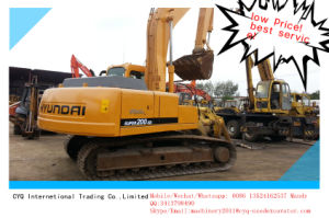 Used Hyundai Excavator 200-5D Secondhand Machine for Sale pictures & photos
