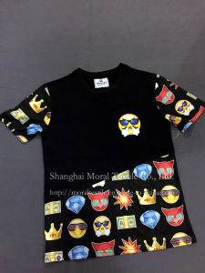Four Kinds Children′s Cartoon Printing T-Shirt pictures & photos