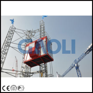 Gaoli Ce Approved Construction Elevator Sc100/100 pictures & photos