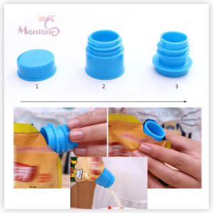Plastic ABS Sealing Screw Cap Spout for Pouch 4.3*3.3cm pictures & photos