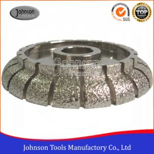 140-350mm Cove Vacuum Brazed Profiling Wheel for Stone pictures & photos