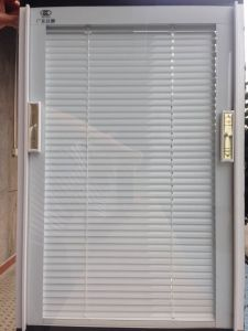 Exquisite Home Decor Window Shutter with Security Bar