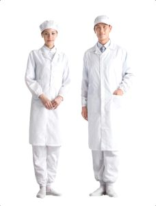 Electronic Conductive Yarn ESD Garment Apparel Protective Workwear pictures & photos