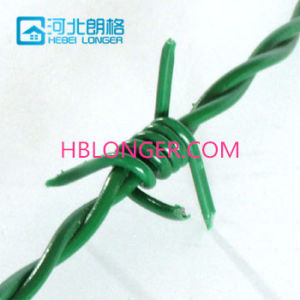 Barbed Iron Wire (Galvanized and PVC Coated&PE)