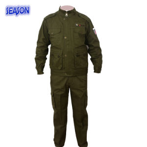 d409bf0463 Army Green Coverall Suit Protective Workwear Clothing Military Uniforms  Clothing