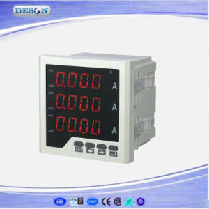 Panel Mounted Three Phase Electronic AC Ammeter pictures & photos