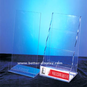Clear Acrylic Book Holder Stand (BTR-H6017) pictures & photos