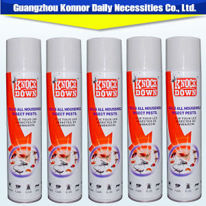 Knock Down Oil Base Poweful Effect Perfume Aerosol Insecticide Spray pictures & photos