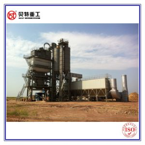 Non Mobile 120 Ton Per Hour Asphalt Mixing Equipment with Detachable Silo
