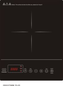 2017 Newest CE EMC RoHS Approved 1800W-2000W Induction Cooker Model SM-DC17 pictures & photos