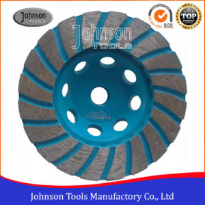 105mm Diamond Turbo Cup Wheel for Stone Grinding pictures & photos