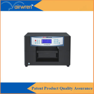A4 Size Eco Solvent Printer Leather Digital Printing Machine with Ce Certification