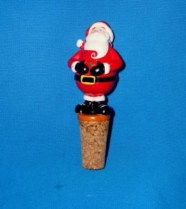Santa Bottle Stopper for Christmas Decoration pictures & photos