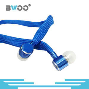 Various Colors Braided Waterproof Shoelace Earphone for Mobile Phone pictures & photos
