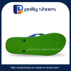High Quality Open Toe Cheap Wholesale Men EVA Yellow Slippers pictures & photos