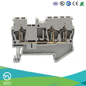 china spring wiring terminal block jut3 2 5 1 2 pa66 plastic rh zjutl88 en made in china com motorcycle wiring block connectors Terminal Blocks and Strips