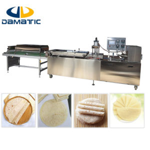 Commercial Flour Tortilla Production Line/Dt400 Automatic Electric Tortilla Press Machine/Tortilla Wraps Making Machine