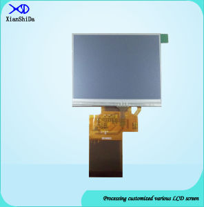 Full Viewing Angle 3.5 Inch TFT LCD Monitor with Resistive Touch Screen Display pictures & photos