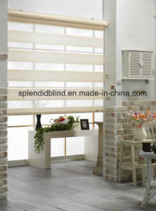 Fabrics Roller Blinds, Metal Unit Head Cap 28mm (SGD-R-5010) pictures & photos