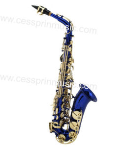 Hot Sell/Alto Saxophone /Color Saxophone / Woodwinds /Cessprin Music (CPAS005BL) / Blue pictures & photos