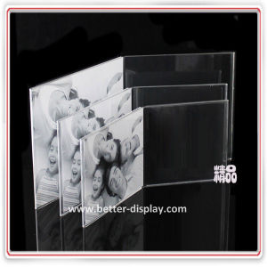 Wholesale Clear Acrylic Glass Picture Frame Manufacturer pictures & photos