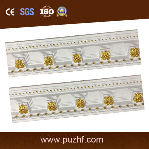 High Desity Nice Surface PU (polyurethane) Crown PU Cornice Moulding for Ceiling Decoration