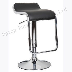 Leather Adjustable Swivel Casino Used Lem Piston Stool (SP-HBC327) pictures & photos