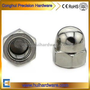 Stainless Steel 304 A2-70 Hexagon Domed Cap Nuts, Acorn Nuts pictures & photos