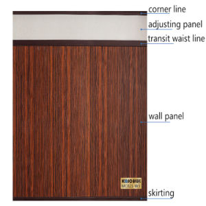 Eco-Friendly No Formaldehyde WPC Wall Panel for Wall Design 3 (W3) pictures & photos