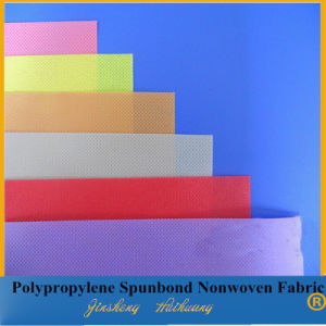 Colorful PP Spunbond Nonwoven Fabric for Upholstery (20cm-320cm)