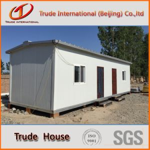 Steel Prefab/Prefabricated House/Mobile/Modular Building for Office or Living pictures & photos