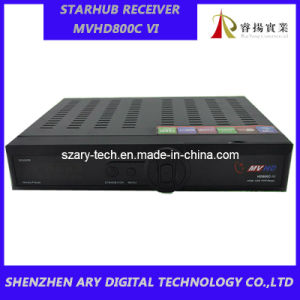 Singapore MVHD800C V HD Cable Receiver with Youtube and WiFi and EPG