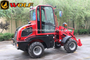 Ce 1t Mini Wheel Loader (WL100) with Fops Rops pictures & photos