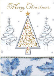 New Design Christmas Greeting Cards (CB20-004)