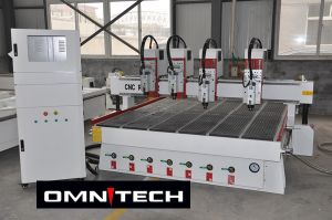 2030 Multiheads CNC Router with 4 Heads