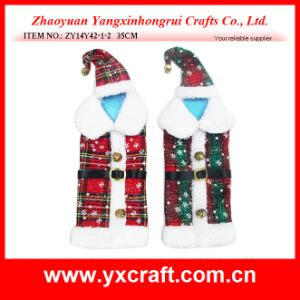 Christmas Decoration (ZY14Y42-1-2 35CM) Christmas Wine Clothes pictures & photos