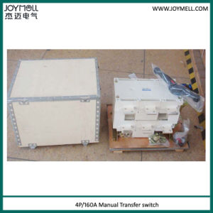Electrical Dual Power 3p 4p Manual Transfer Switch From 1A to 1600A pictures & photos