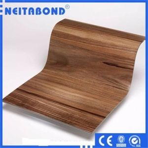 Wood Texture Aluminum Composite Panel for Interior Wall Decorative Material pictures & photos