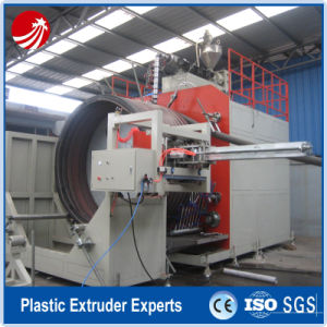 HDPE Large Diameter Hollow Wall Winding Pipe Extrusion Machine pictures & photos