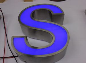 Outdoor Metal Letters with LED Lights
