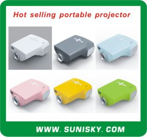 Smp7019 Hot Selling Mini Pocket Projector for Children Teaching pictures & photos
