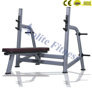 Platform Support Olympic Flat Bench Fitness Equipments pictures & photos